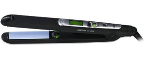 braun es2 flat iron in black color