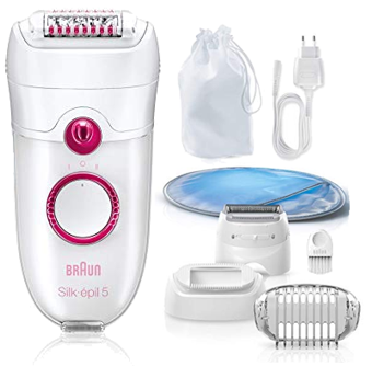braun silk epil 5 epilator for body